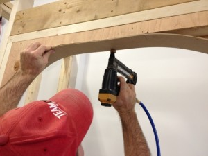 How To Build an Arched Opening